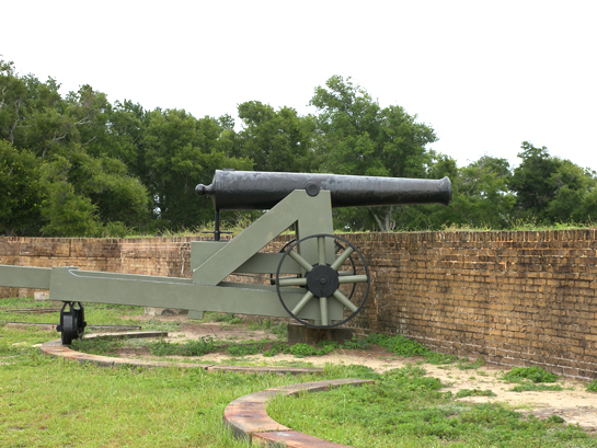 Cannon at Fort Barrancas