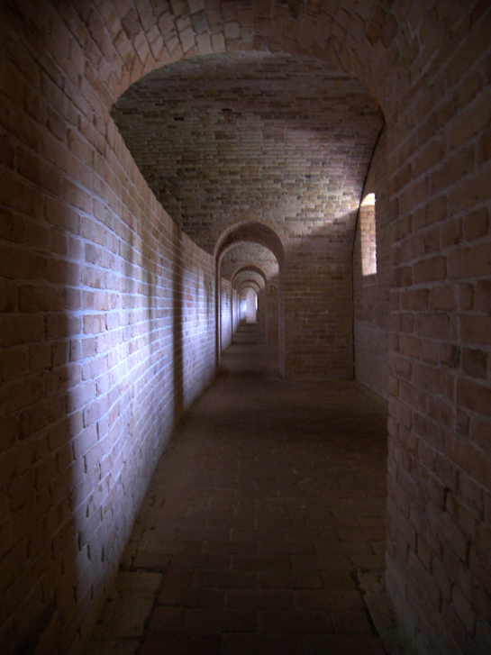 Inside Fort Barrancas