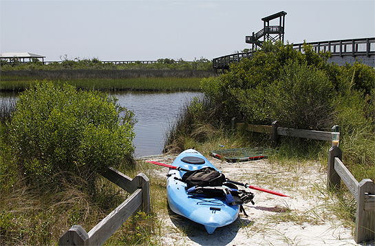 Big Lagoon State Park kayak Trail