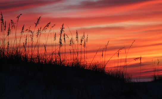 Sunset at Fort Pickens