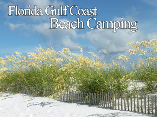 Florida Gulf Coast Beach Camping