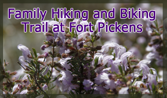 Family Hiking and Biking Trails at Fort Pickens