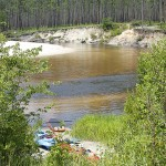 Our favorite kayak launch on Blackwater River