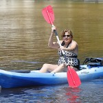Sherry Kayaking