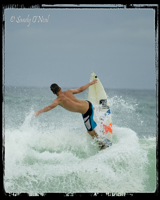 Surfing at Fort Walton Beach