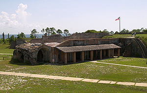 Gulf Islands National Seashore - Fort Pickens