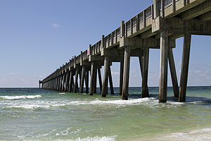 Things to do in pensacola outdoor gulf coast of for Pensacola beach fishing pier