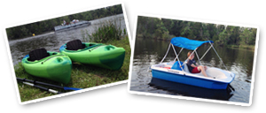 Photo of kayaks