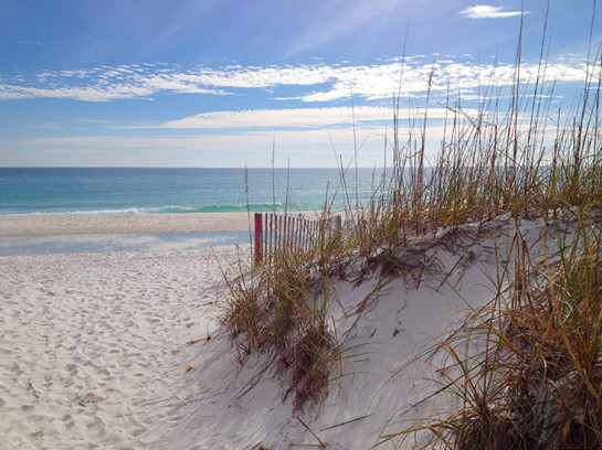 Calm day on Pensacola Beach