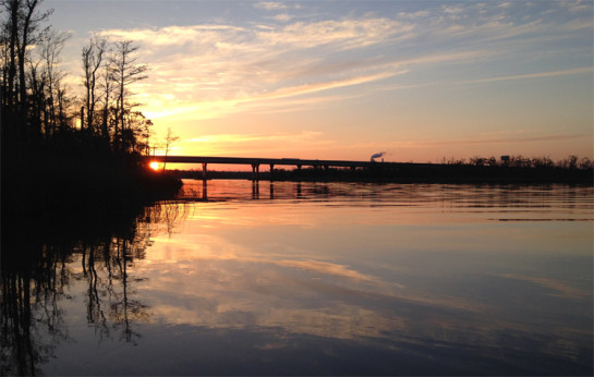 sunrise-escambia-river
