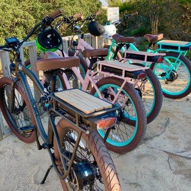 Bikes in Grayton Beach