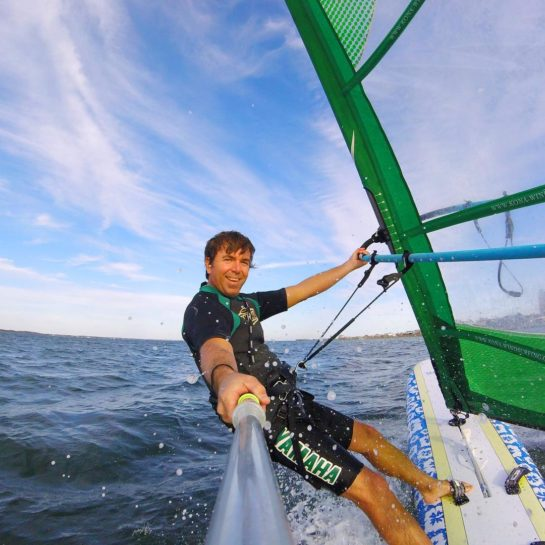 Shawn Windsurfing