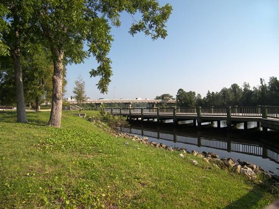 Riverwalk in Milton