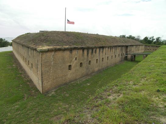 Fort Barrancas in Pensacola