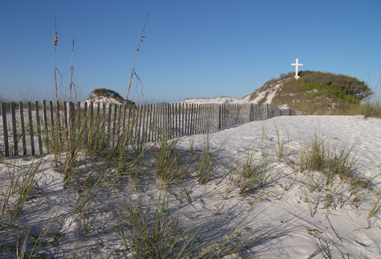The Cross on Pensacola Beach