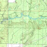 Blackwater River Topo Map