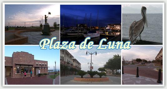 Plaza de Luna in Pensacola