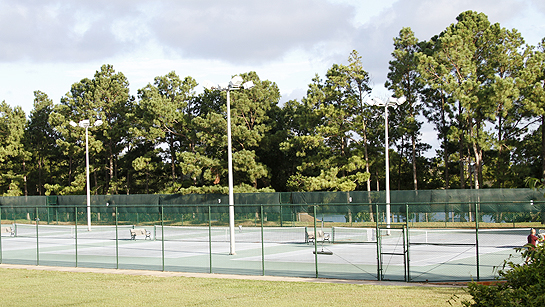 Tennis Courts Bayview Park