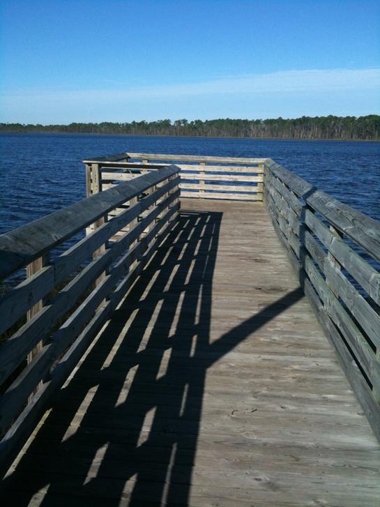 Dock at Tarkiln Bayou
