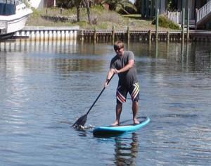 Shawn Paddleboarding
