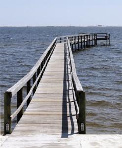 Pier at Navarre Beach Campground