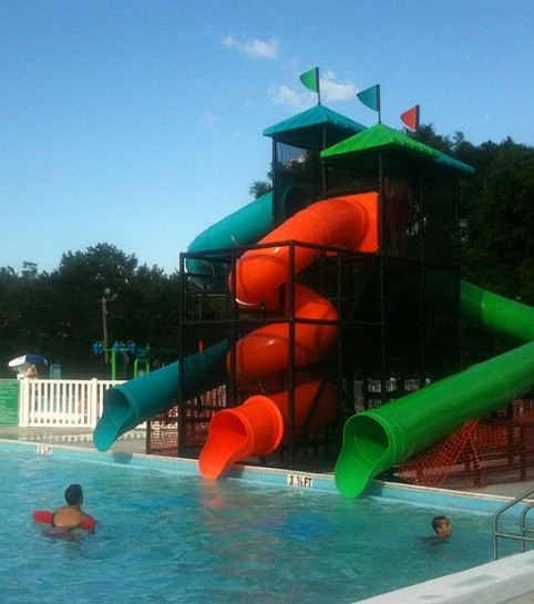 Roger Scott Pool Slide