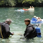 Divers at Morrison Springs