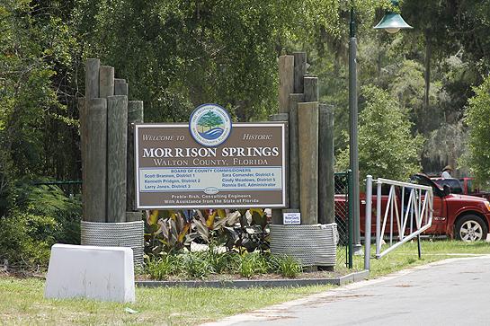 Morrison Springs park entrance