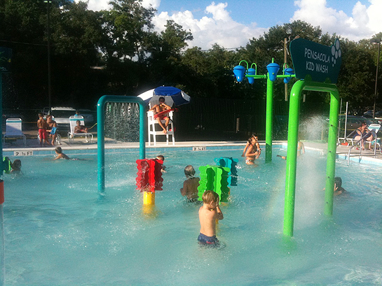 Kid area at Roger Scott Pool