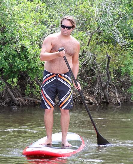 Paddleboarding Blackwater