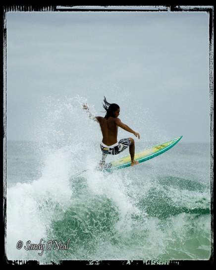 Surfing at Fort Walton Beach