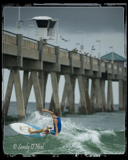 Fort Walton Beach Pier Surfing