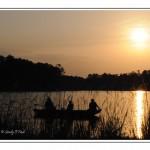 Sunset at Karick Lake
