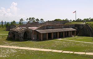Gulf Islands National Seashore - Fort Pickens