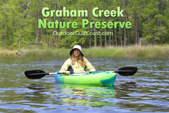 Kayaking Graham Creek Nature Preserve