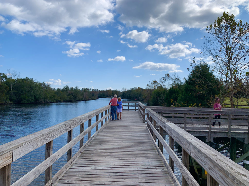 Pier at Bagdad Mill Site Park
