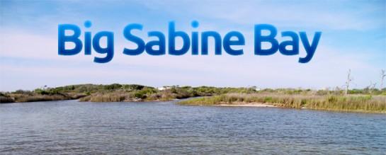 Big Sabine Bay on Pensacola Beach