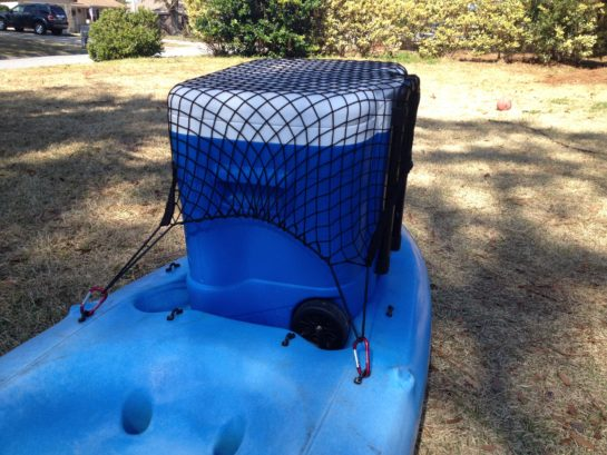cargo net with cooler
