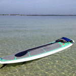 Clear water paddleboarding