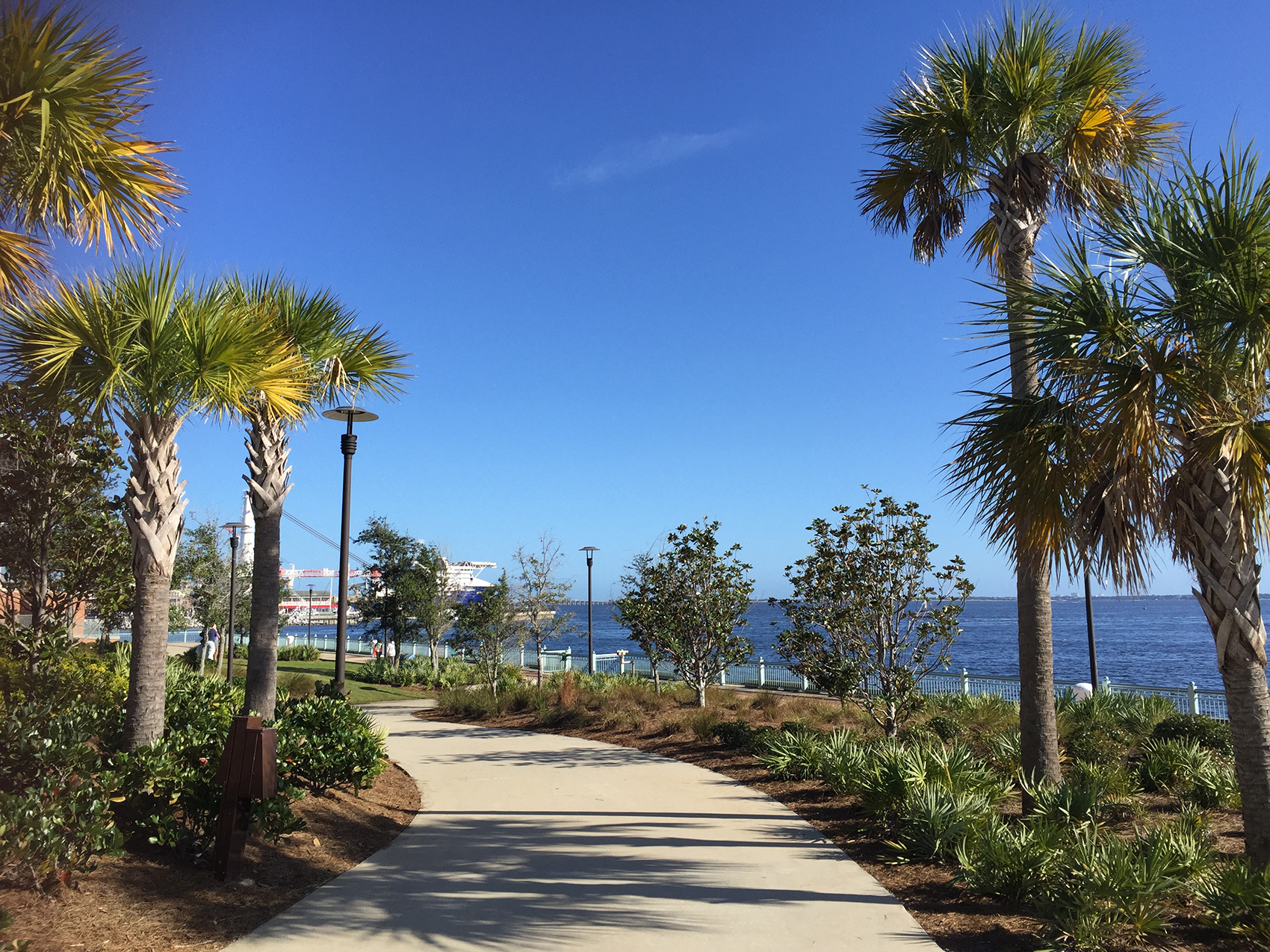 Walking Trails at Community Maritime Park