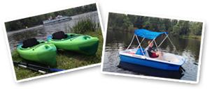 Photo of kayaks