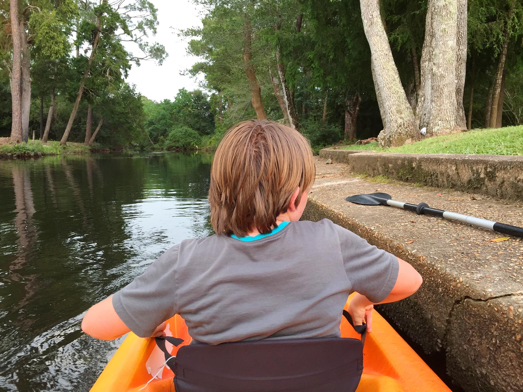 Pond Creek Kayaking