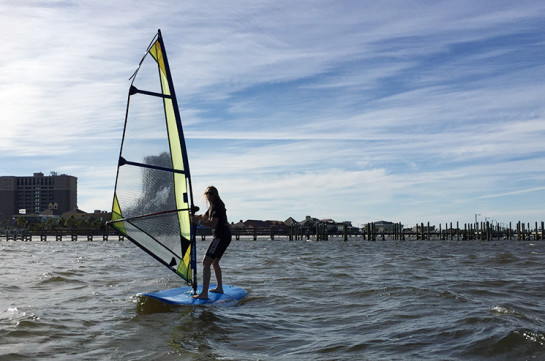 Lindy Windsurfing