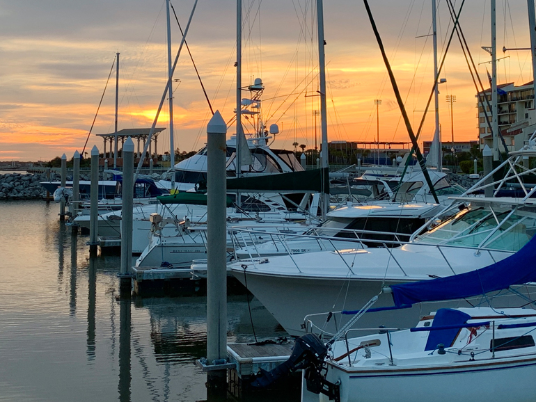 Palafox Pier downtown Pensacola