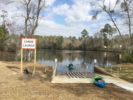 Perdido River Kayak Launch