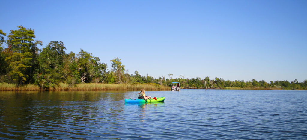 Paddling Pond Creek and Blackwater River