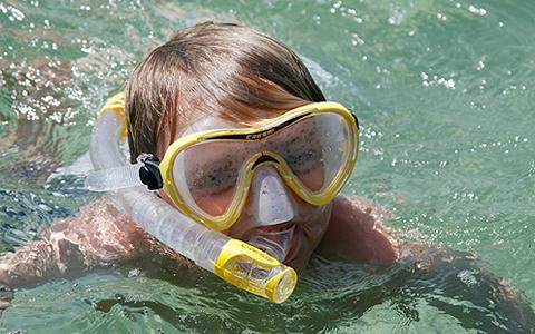 Sam Snorkeling
