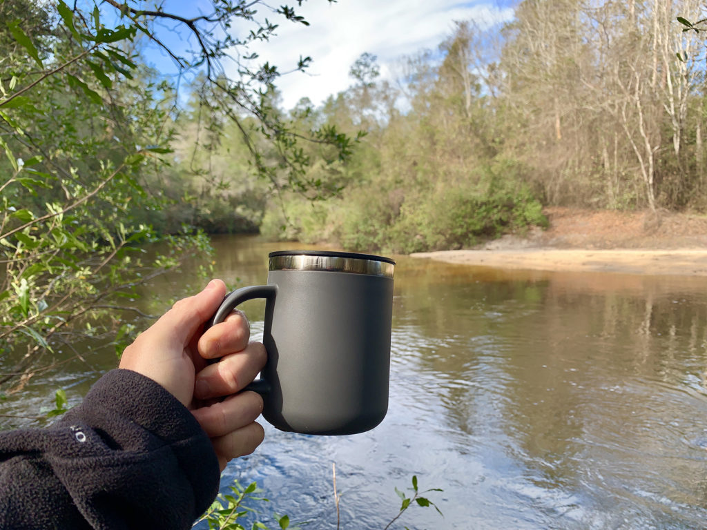 Coffe outdoors