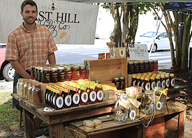 Thomas of East hill Honey Co