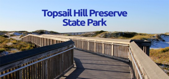 Topsail Hill Preserve State Park Beach Boardwalk